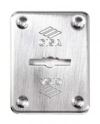 CISA 06082-00 Накладка внешняя под сувальдный ключ