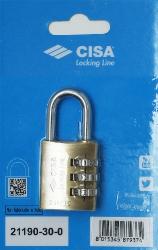 CISA 21190 Замок навесной с кодовым механизмом