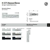 H 375 Serie BASSORLIIEVO