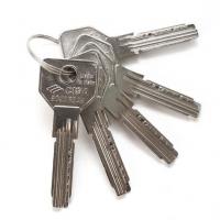 Цилиндровый механизм CISA ASIX ключ/ручка