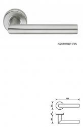 Дверная ручка H 416 Serie GARNET
