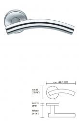 Дверная ручка H 418 Serie AZURE