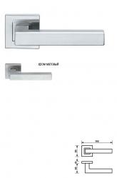 Дверная ручка H 419 Serie BORDEAUX
