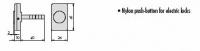 CISA 06110-10 Кнопка механическая для электромеханического замка