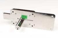 CISA 55254-50. Накладной засов, никелированый, 3 ключа.